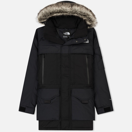 Мужская куртка аляска The North Face Mcmurdo 2 TNF Black/High Rise Grey