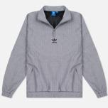 Мужская куртка анорак adidas Originals 1/2 Zip Wind Black Melange фото- 0