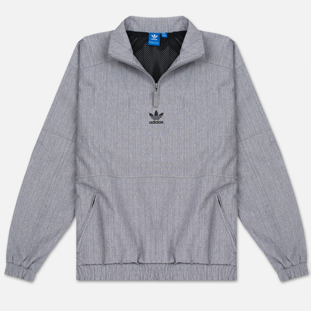 Мужская куртка анорак adidas Originals 1/2 Zip Wind Black Melange