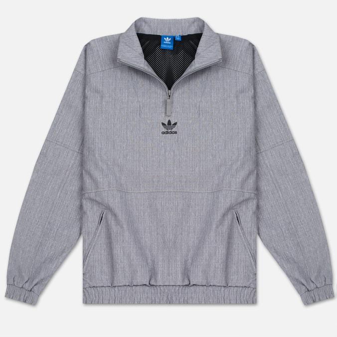 Мужская куртка анорак adidas Originals 1/2 Zip Wind Black Melange