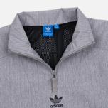 Мужская куртка анорак adidas Originals 1/2 Zip Wind Black Melange фото- 1