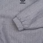Мужская куртка анорак adidas Originals 1/2 Zip Wind Black Melange фото- 2