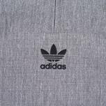 Мужская куртка анорак adidas Originals 1/2 Zip Wind Black Melange фото- 6