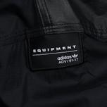 Мужская куртка анорак adidas Originals EQT Vintage Black фото- 4