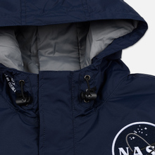 Мужская куртка анорак Alpha Industries NASA Replica Blue фото- 1
