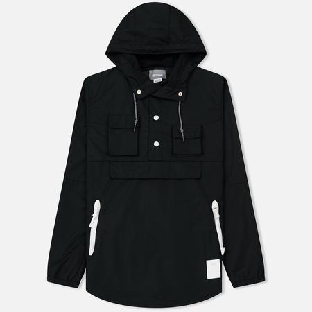 Мужская куртка анорак ASICS Premium Black/White/Black