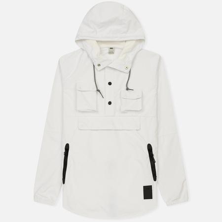 Мужская куртка анорак ASICS Premium White/Black