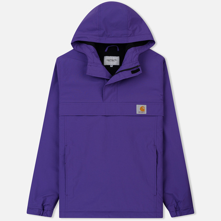 Мужская куртка анорак Carhartt WIP Nimbus 5 Oz Frosted Viola