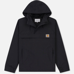 Мужская куртка анорак Carhartt WIP Nimbus Nylon Supplex 5.0 Oz Black фото- 0