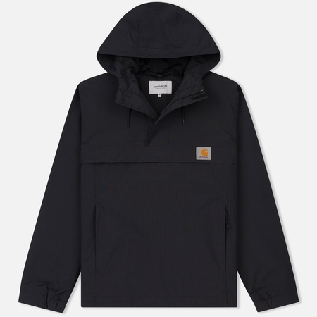 Мужская куртка анорак Carhartt WIP Nimbus Nylon Supplex 5.0 Oz Black