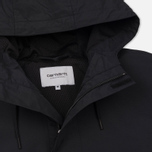 Мужская куртка анорак Carhartt WIP Nimbus Nylon Supplex 5.0 Oz Black фото- 1