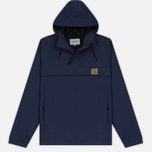 Мужская куртка анорак Carhartt WIP Nimbus Nylon Supplex 5.0 Oz Blue фото- 0