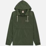 Мужская куртка анорак Champion Reverse Weave Hooded Military Green фото- 0