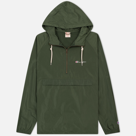 Мужская куртка анорак Champion Reverse Weave Hooded Military Green