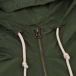 Мужская куртка анорак Champion Reverse Weave Hooded Military Green фото- 2