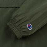Мужская куртка анорак Champion Reverse Weave Hooded Military Green фото- 5