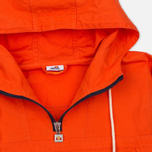 Мужская куртка анорак Ellesse Mont 1/4 Zip Red Orange фото- 1