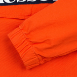 Мужская куртка анорак Ellesse Mont 1/4 Zip Red Orange фото- 3