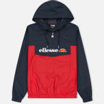 Мужская куртка анорак Ellesse Mont Brava Dress Blues/True Red фото- 0