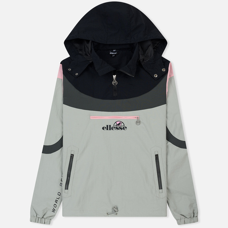 Мужская куртка анорак Ellesse x Staple Pigeon Irving Tracktop Black/Grey