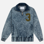 Мужская куртка анорак Han Kjobenhavn Half Zip Track Top Acid Wash фото- 0