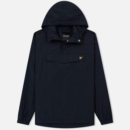 Мужская куртка анорак Lyle & Scott Overhead Dark Navy