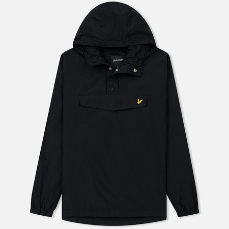 Мужская куртка анорак Lyle & Scott Overhead True Black