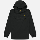 Мужская куртка анорак Lyle & Scott Pull Over True Black фото- 0