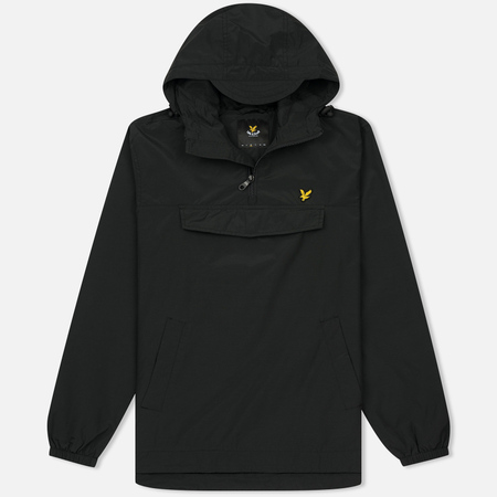 Мужская куртка анорак Lyle & Scott Pull Over True Black