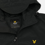 Мужская куртка анорак Lyle & Scott Pull Over True Black фото- 1