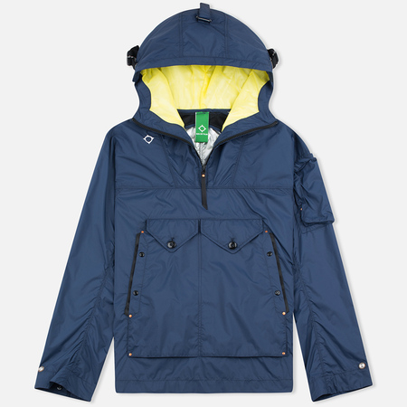 MA.Strum Packable Sniper Dress Men's Anorak Blues