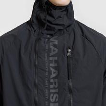 Мужская куртка анорак maharishi Onibegie Mandala Cagoule Black фото- 3