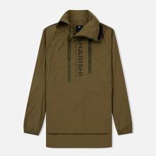 Мужская куртка анорак maharishi Onibegie Mandala Cagoule Olive фото- 0