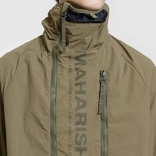 Мужская куртка анорак maharishi Onibegie Mandala Cagoule Olive фото- 2
