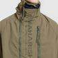 Мужская куртка анорак maharishi Onibegie Mandala Cagoule Olive фото - 2
