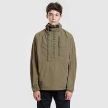 Мужская куртка анорак maharishi Onibegie Mandala Cagoule Olive фото- 1