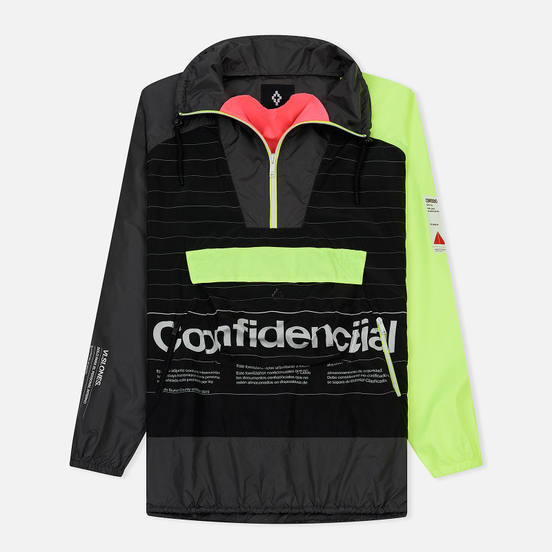 Мужская куртка анорак Marcelo Burlon Intel Lettering Windbreaker Multicolor