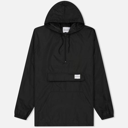 Мужская куртка анорак MKI Miyuki-Zoku Studio Windsmock Black