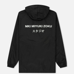 Мужская куртка анорак MKI Miyuki-Zoku Studio Windsmock Black фото- 5