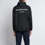 Мужская куртка анорак MKI Miyuki-Zoku Studio Windsmock Black фото- 8