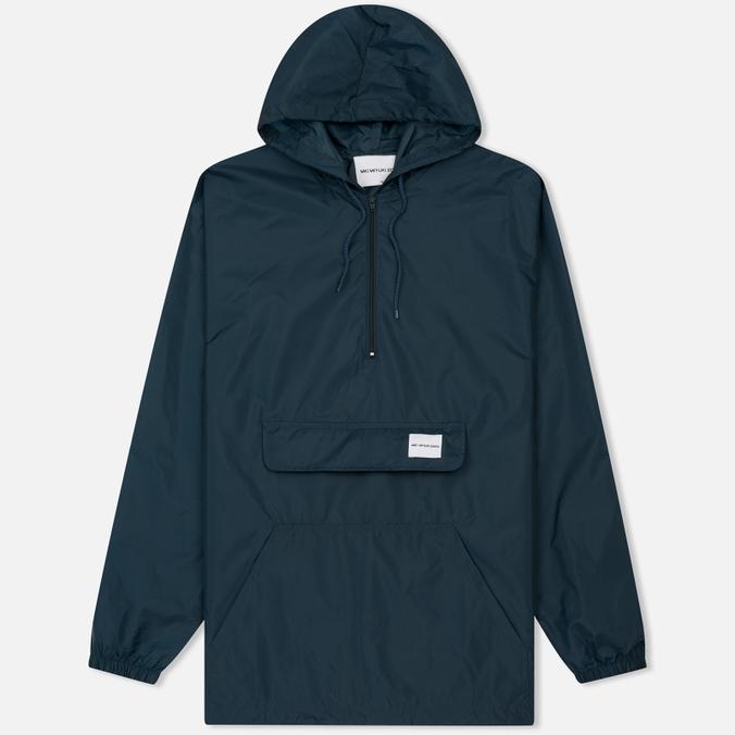 Мужская куртка анорак MKI Miyuki-Zoku Studio Windsmock Navy