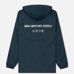 Мужская куртка анорак MKI Miyuki-Zoku Studio Windsmock Navy фото- 5