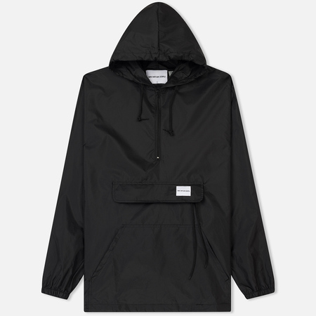 Мужская куртка анорак MKI Miyuki-Zoku Unlined Studio Windsmock Black