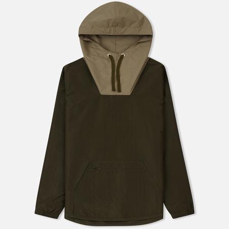 Мужская куртка анорак Nanamica Coach Khaki