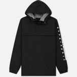 Мужская куртка анорак Napapijri Asher T1 Black фото- 0
