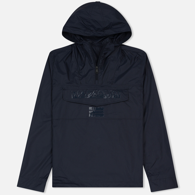 Мужская куртка анорак Napapijri Asheville Blue Marine