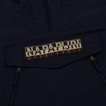 Мужская куртка анорак Napapijri Rainforest Parka Blue Marine фото- 3