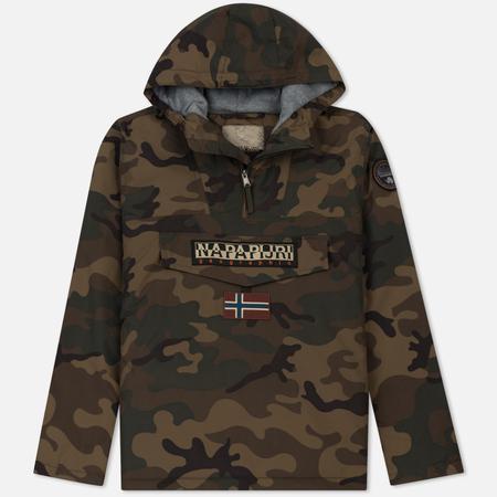 Мужская куртка анорак Napapijri Rainforest M Camou Fantasy Camouflage