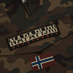 Мужская куртка анорак Napapijri Rainforest M Camou Fantasy Camouflage фото- 3