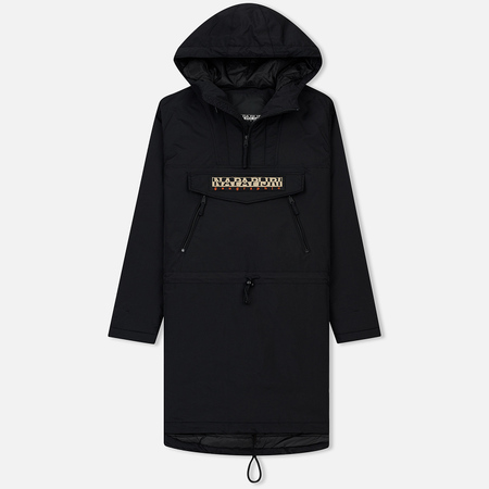 Мужская куртка анорак Napapijri Rainforest Parka Black